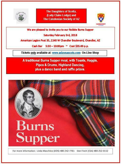 Burns Supper 2018